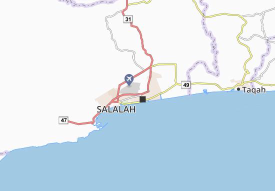 Carte-Plan Al Qawf