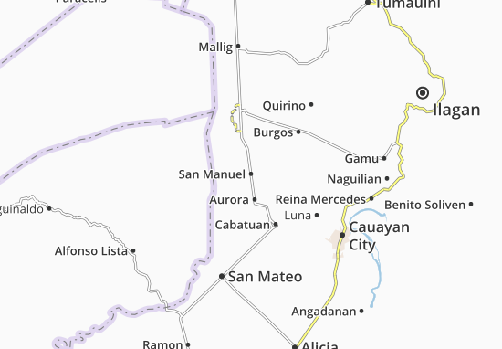 San Manuel Map