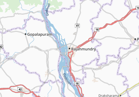 Rajahmundry Map