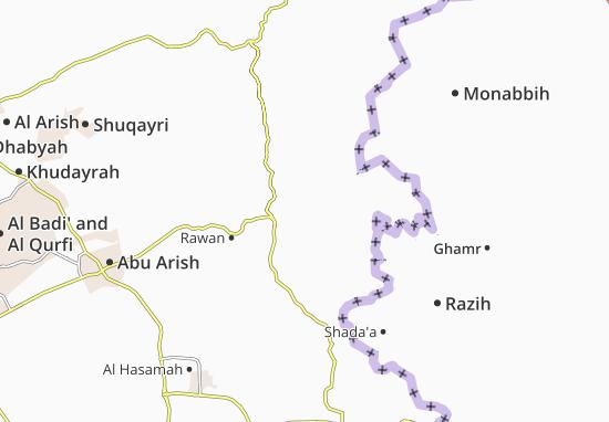 Carte-Plan Al 'Ardha
