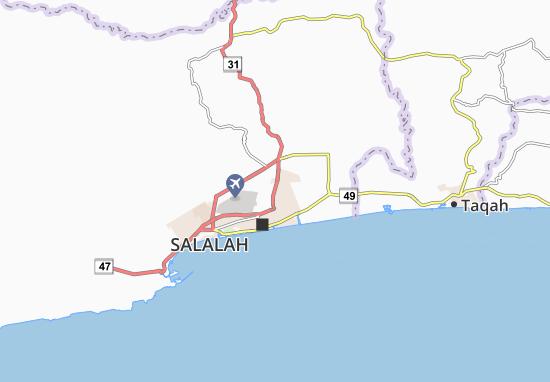 Carte-Plan Al Saadah South