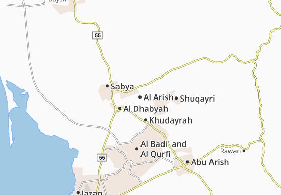 Carte-Plan Al Arish