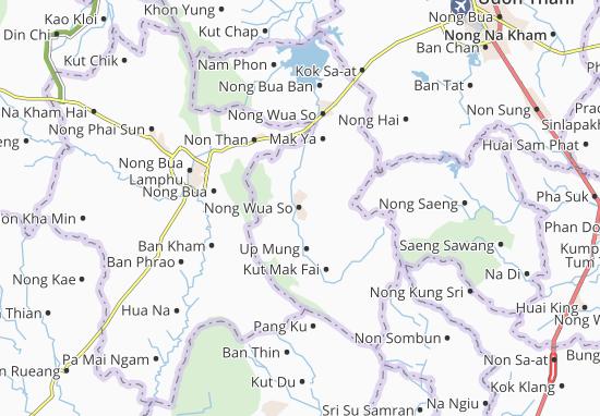 Nong Wua So Map