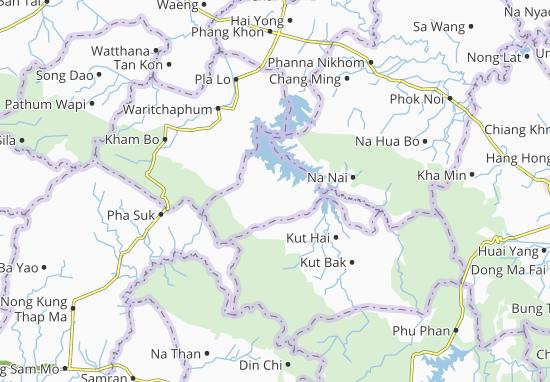 Nikhom Nam Un Map