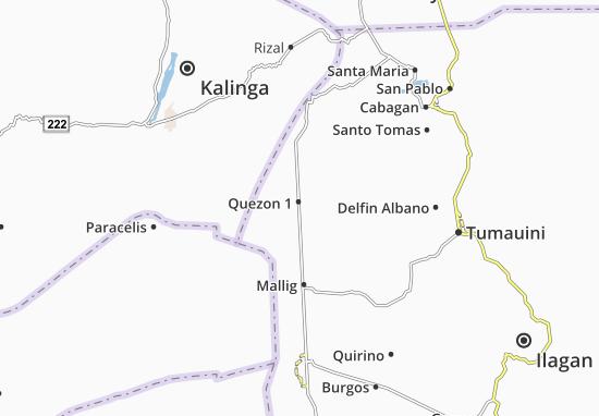 Mappe-Piantine Quezon 1