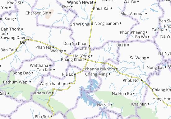 Mapas-Planos Phang Khon