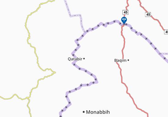 Carte-Plan Qatabir