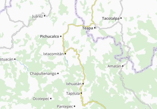 Carte-Plan Solosuchiapa