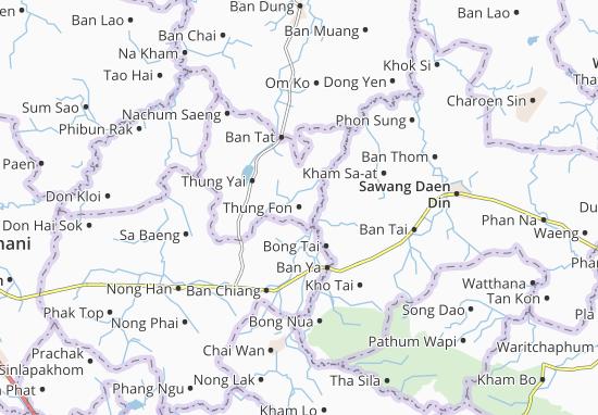 Thung Fon Map