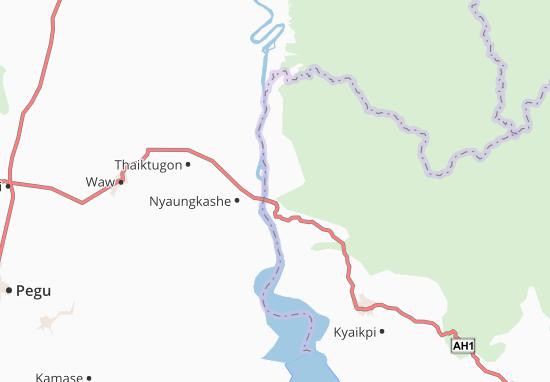 Kaart Plattegrond Taungthuzu