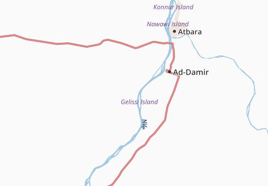 Carte-Plan Abu-Salim