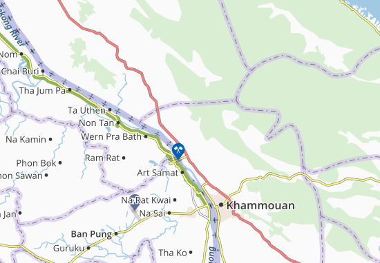 Ban Nakok Map