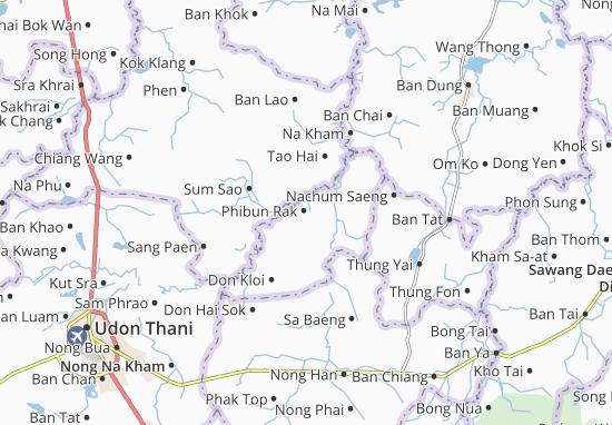 Phibun Rak Map