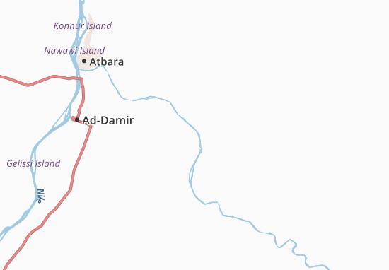 Carte-Plan Gangari