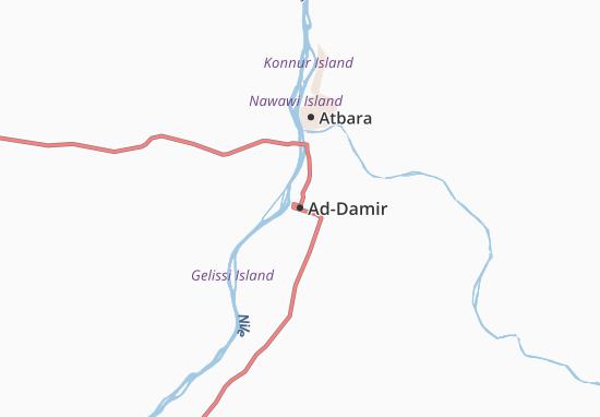 Carte-Plan Ad-Damir