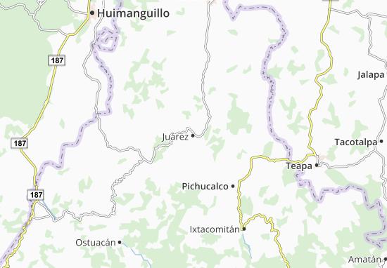 Carte-Plan Juárez