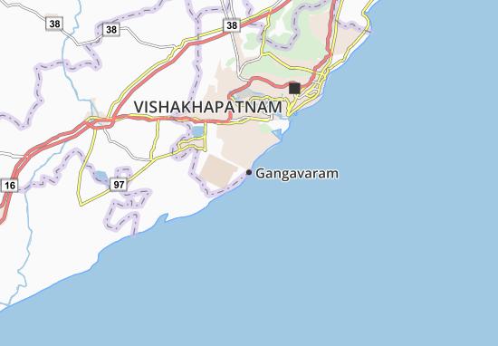 Mapa Plano Gangavaram