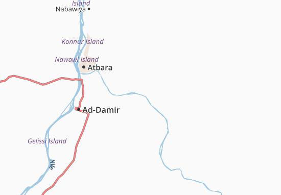 Carte-Plan Abu-Ammar