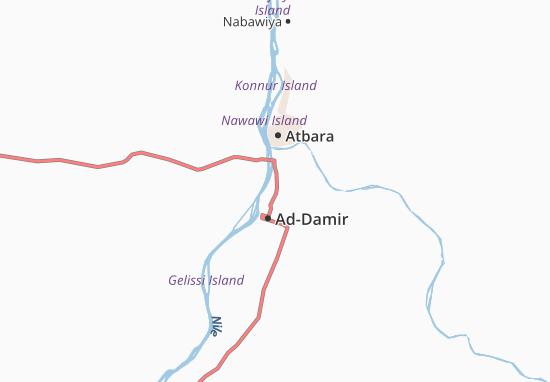 Carte-Plan Hasanab