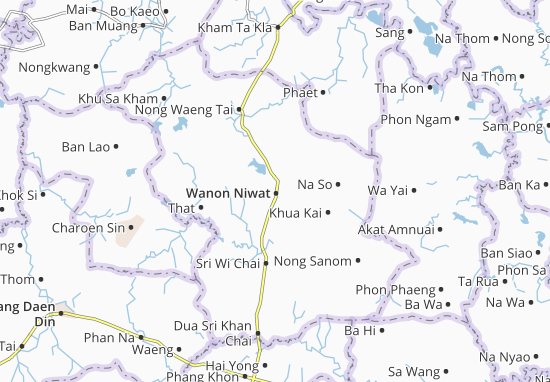 Wanon Niwat Map