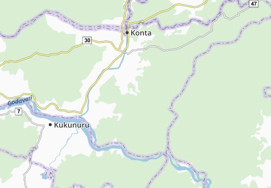 Kaart Plattegrond Kunduluru
