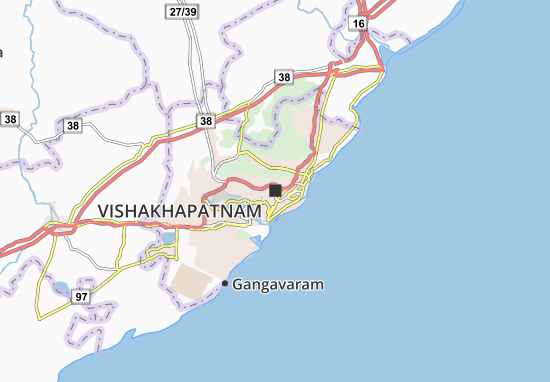 Mapas-Planos Vishakhapatnam
