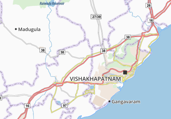 Sabbavaram Map