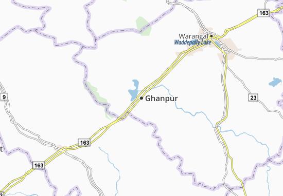 Ghanpur Map