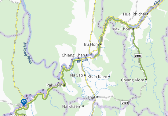 Chiang Khan Map