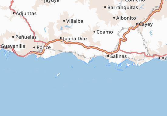 Santa Isabel Map