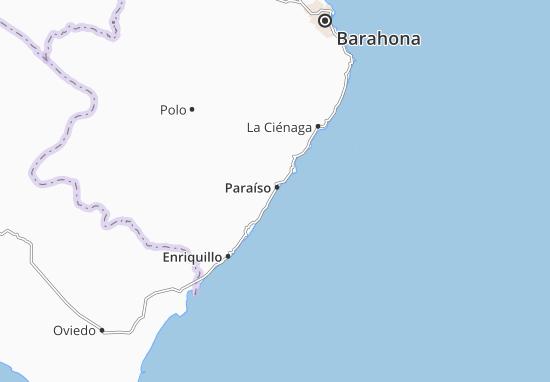 Paraíso Map