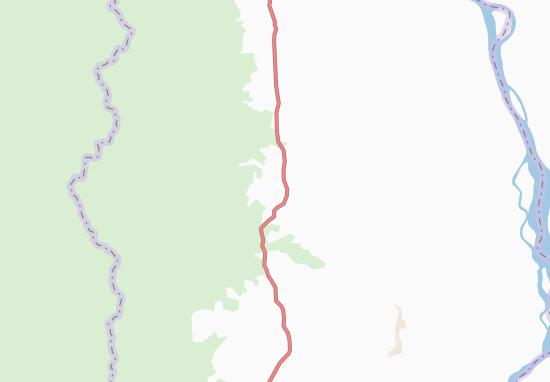 Kaart Plattegrond Taukkyandaing