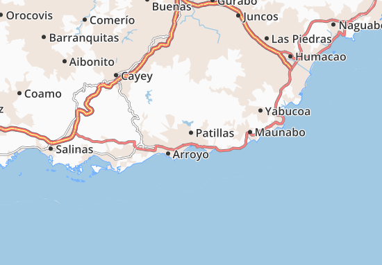 Patillas Map