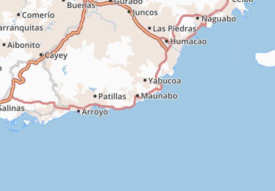Maunabo Map