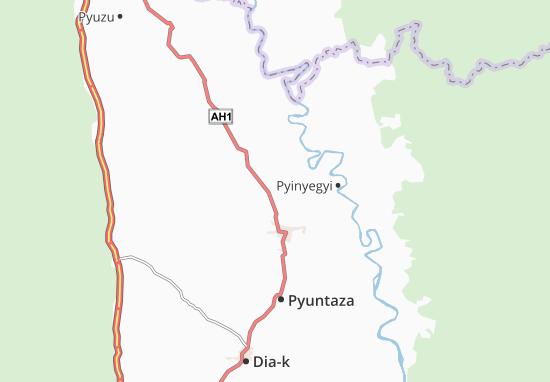Carte-Plan Thayetkon