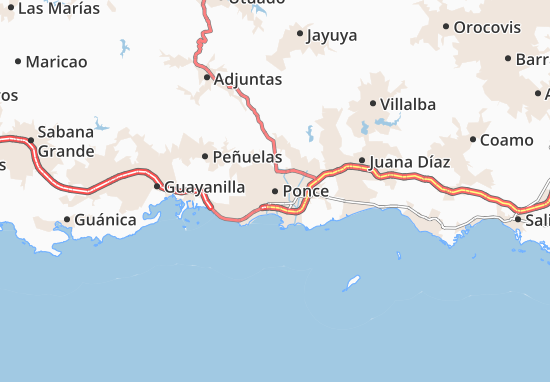 Ponce Map