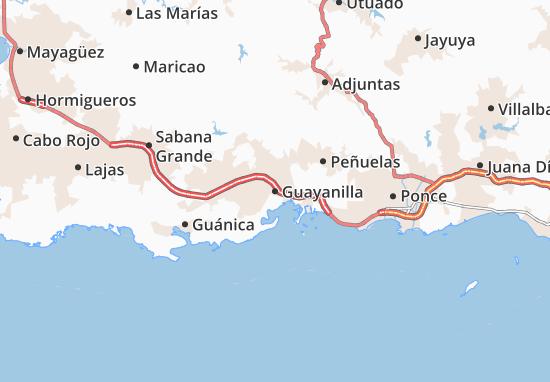 Guayanilla Map