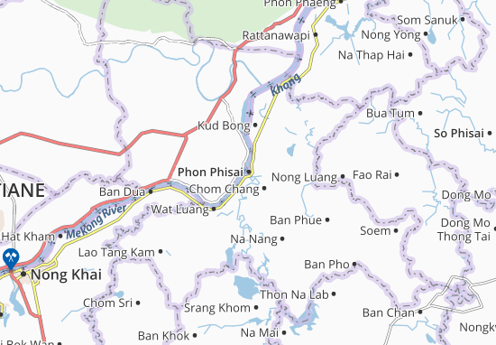 Carte-Plan Phon Phisai