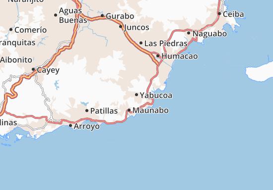 Yabucoa Map