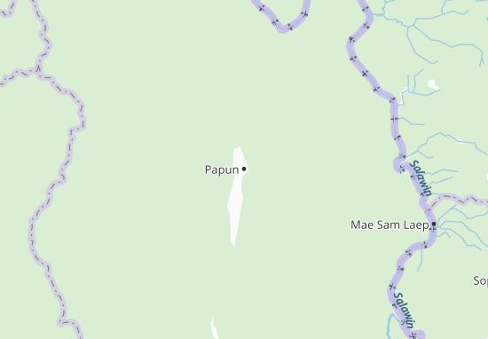 Papun Map