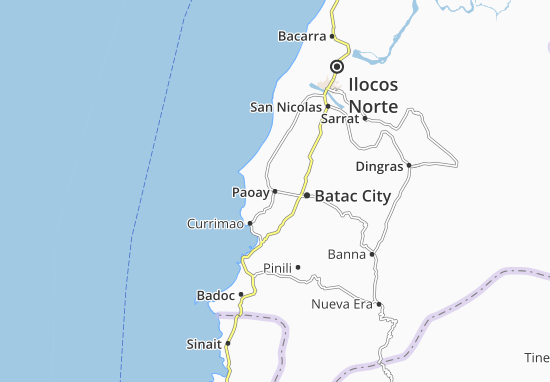 Carte-Plan Paoay
