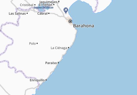La Ciénaga Map