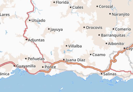 Villalba Map