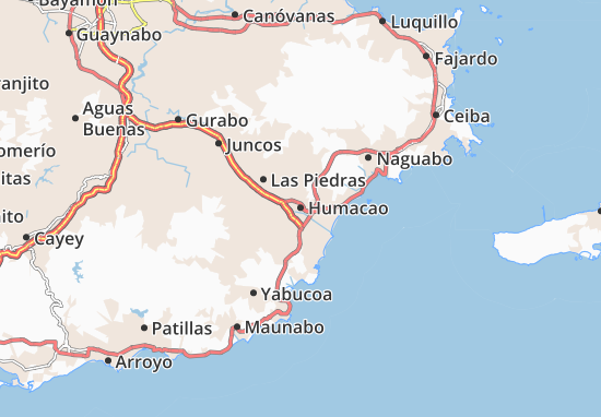 Humacao Map