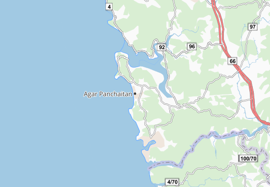 Carte-Plan Agar Panchaitan