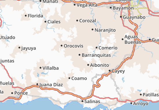 Barranquitas Map