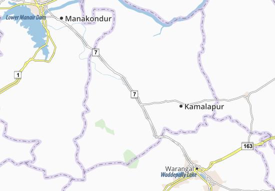 Huzurabad Map