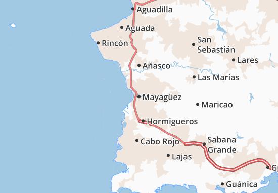 Mayagüez Map