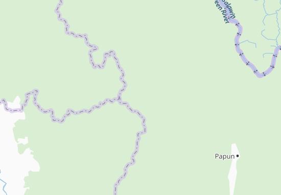 Kaart Plattegrond Tedodita Sakan