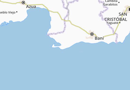 Kaart Plattegrond Las Calderas